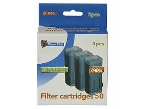 3 Cartouches De Rechange Easy Click - Pour AquaFlow 50 - (Superfish)
