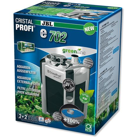 JBL CristalProfi e702 greenline pour aquariums  de  60 - 200 litres