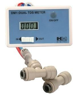 HM DM-1: In-Line Dual TDS Monitor ( lage verzendingskost ! )
