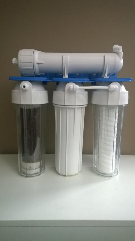 Osmosetoestel Rush Osmo 50   DI  (demineralisatie)   190liter/dag  (optie : filmtec membraan)