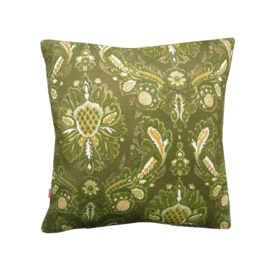 Kussenhoes barok groen retro vintage