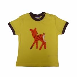 T-shirt Bambi geel