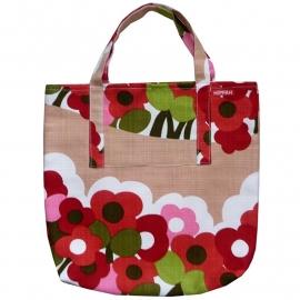 Shopper retro bloemen