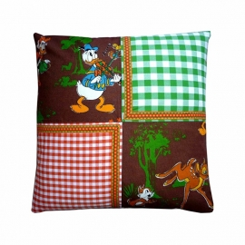 Kussenhoes Disney Donald Duck Bambi hertje