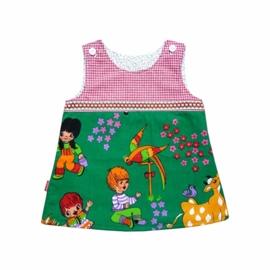 Retro jurkje van kinderstof