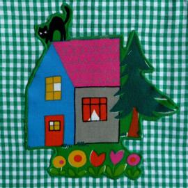 Babyjurkje retro vintage kinderprint
