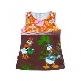 Donald en Katrien Duck jurkje maat 74