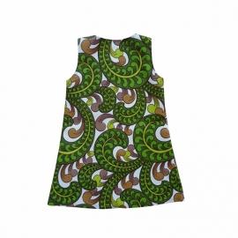 Vintage jurkje met haakwerkje maat 92