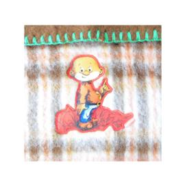 Zuiver scheerwol babydeken met Paulus de boskabouter