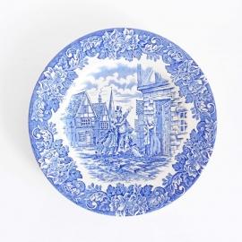 Plat bord Delftsblauw