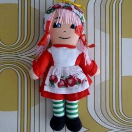 Aardbeienmeisje