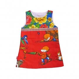 Paulus de Boskabouter jurk maat 86