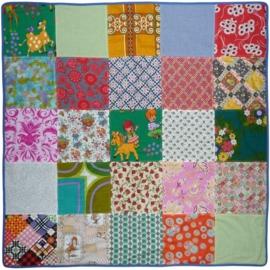 Retro babydeken patchwork