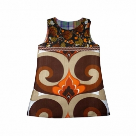 Funky vintage jurkje maat 92