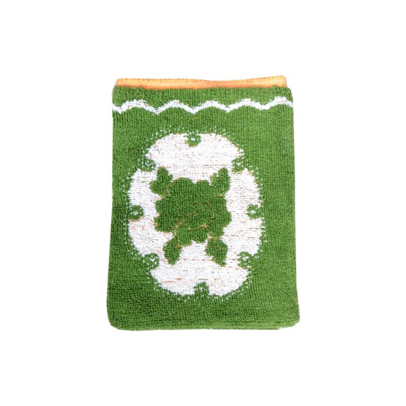 Washandje vintage retro groen