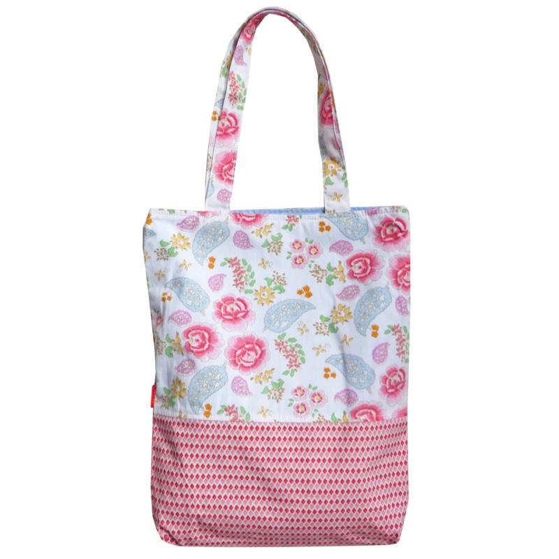 Tote bag Room seven paisley bloemen