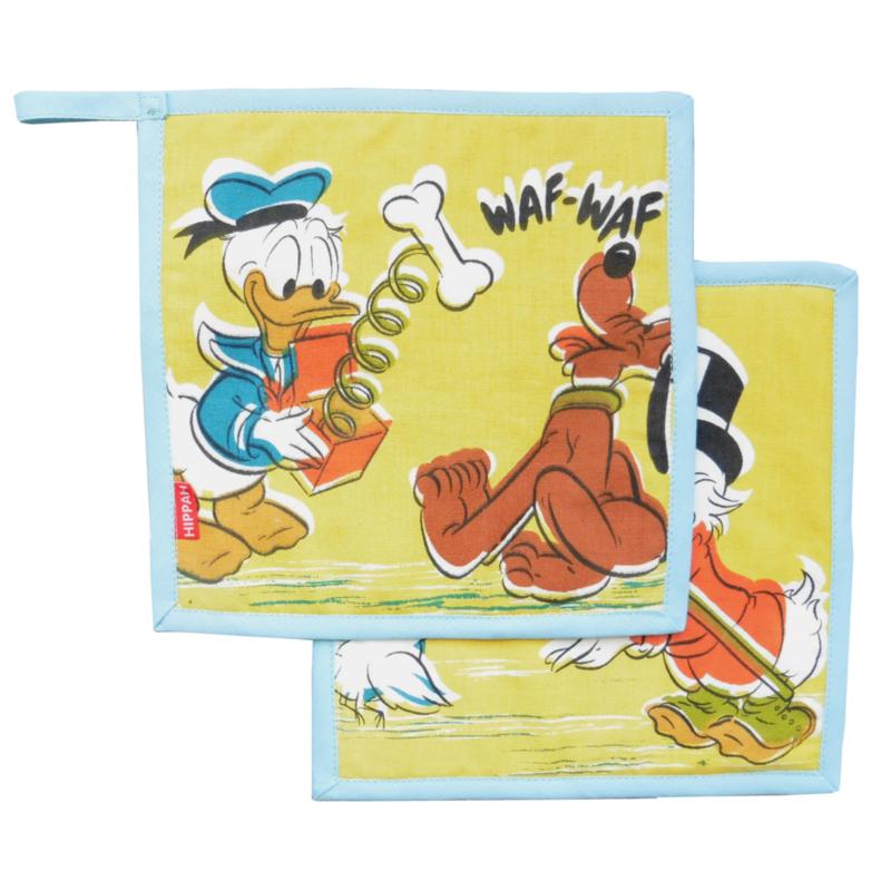 Pannenlappen Donald Duck Walt Disney retro vintage