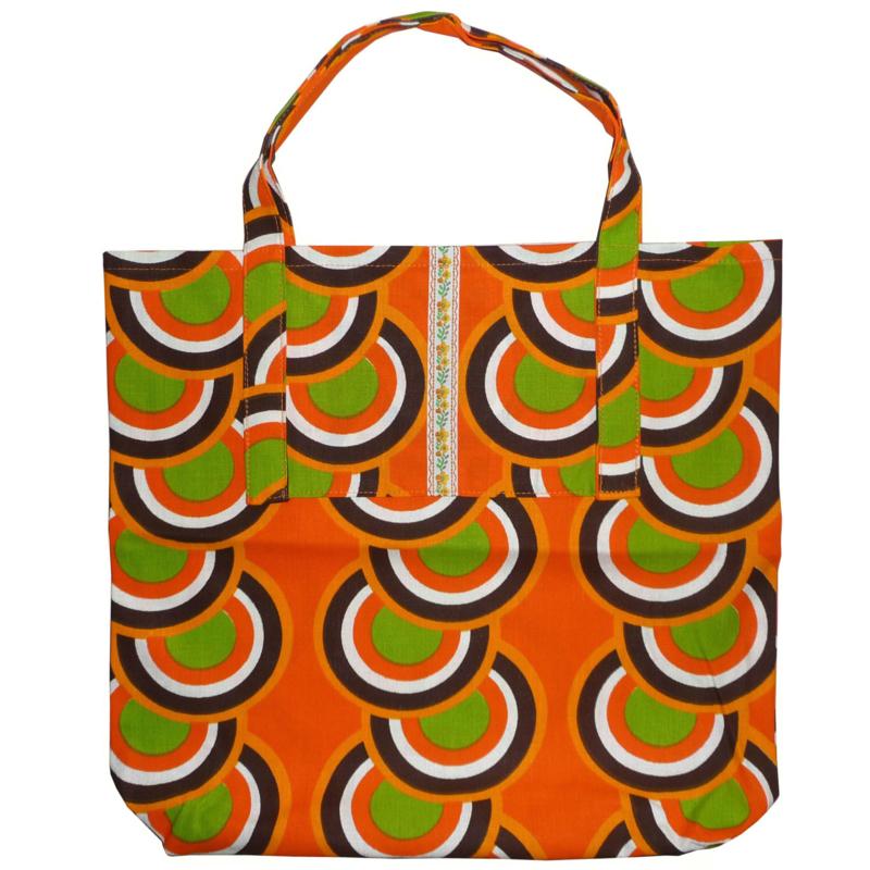 Shopper oranje cirkels