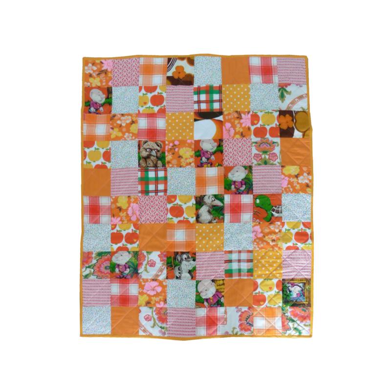 Retro Paulus de Bosabouter baby speelkleed deken patchwork