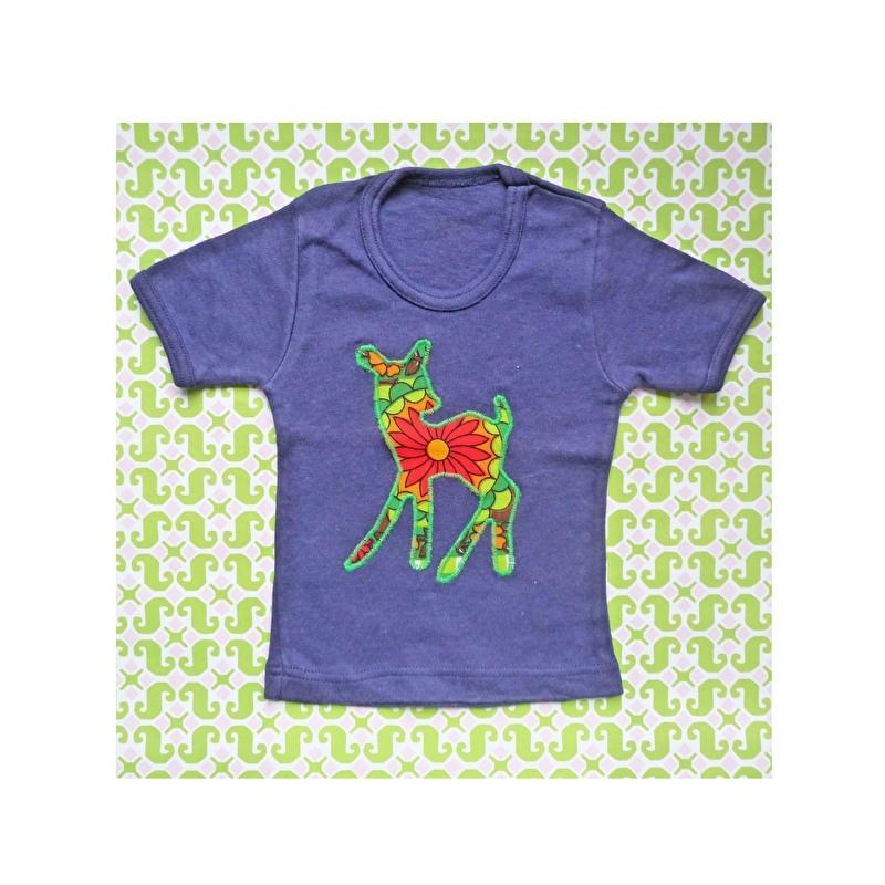 Vintage Bambi hertje t-shirt mt 62