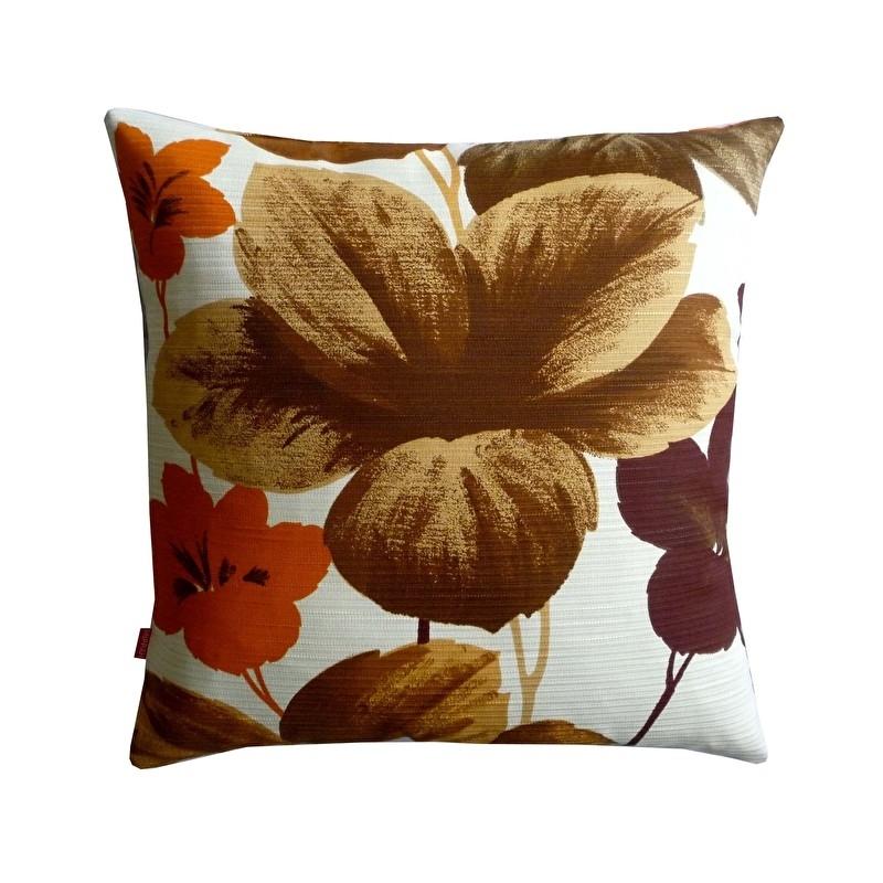 Kussenhoes bloemen seventies stof