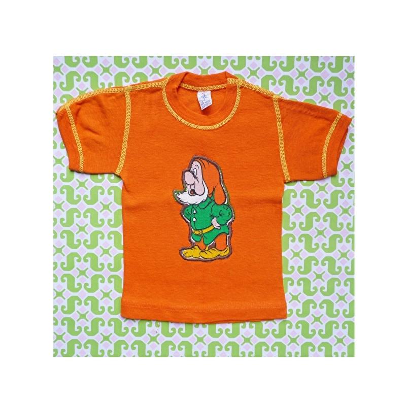 Baby t-shirt Disney dwerg oranje mt 62