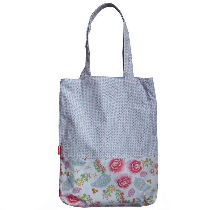 Tote bag Room seven paisley blauw