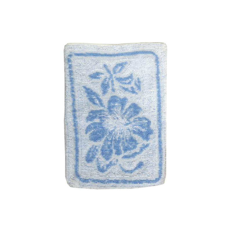 Washand vintage retro blauw wit