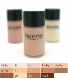 Make-up Studio Fluid Foundation Covering 30 ml: Apricot
