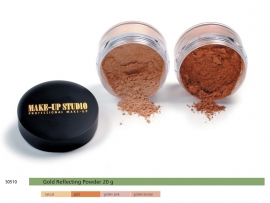 Make-up Studio Gold Reflecting Powder 20 gr.