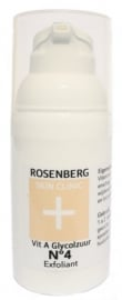 N4 Vitamine A glycolzuur Huidgel | Rosenberg Skin Clinic30 ml - Intensief exfoliant