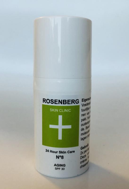 24 Hour Skin Care |AGING| Rosenberg Skin Clinic® - 30 ml - dag & nacht verzorging met Hyaluronzuur
