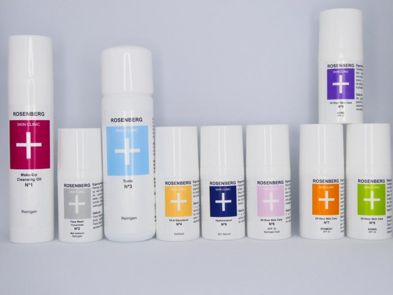 Acne pakket | Inhoud: reiniging N 2,3, dieptereiniging N4, N9 Acne, masker overdag en nacht crememasker. Uitleg en tips.