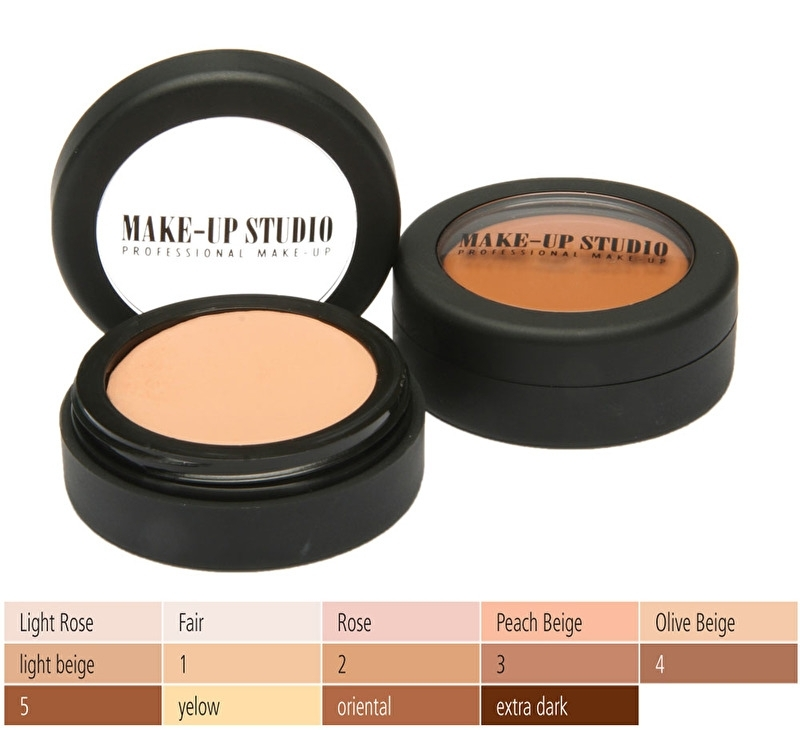 Make-up Studio Cream Foundation Professionel 17 grm Nr 5