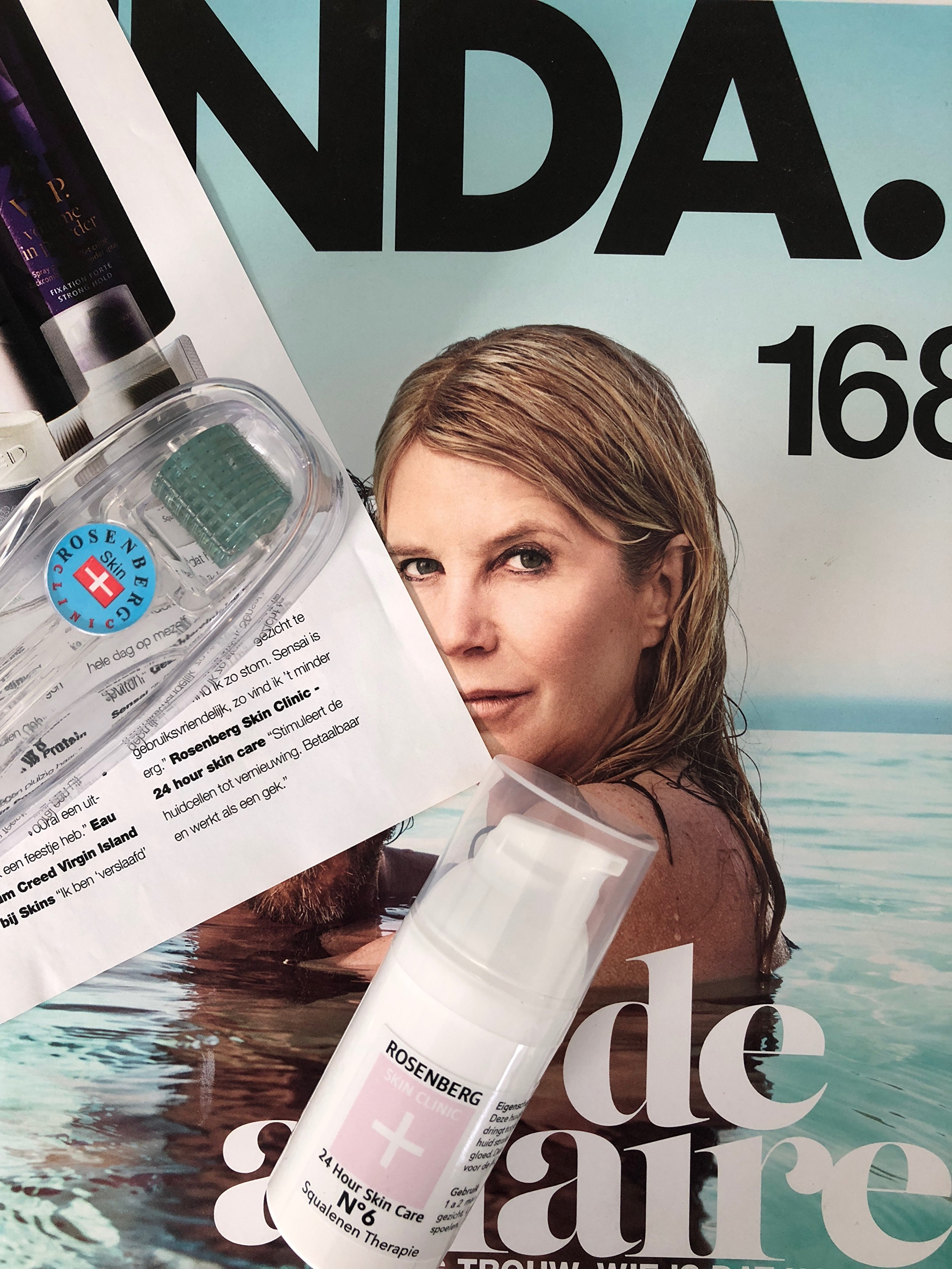 LINDA Magazine enthousiast over Rosenberg Skin Clinic in Blaricum