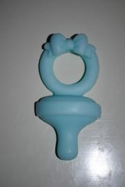 Speen zeepje blauw