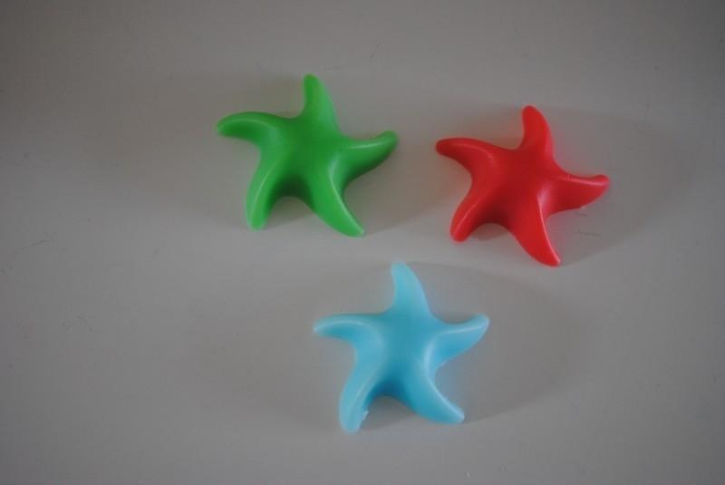 3 zee sterren zeepjes