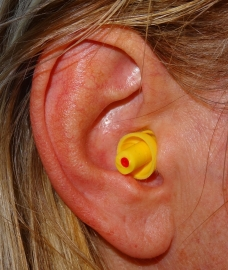 Høreværn - ørepropper Industri (hvid)
