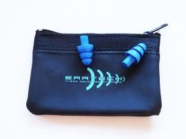 Eartech tappi per le orecchie per Nuotatori (blu scuro).