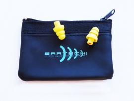 Høreværn - ørepropper til musik (gul) duo pack.