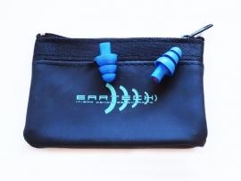 Høreværn - ørepropper til musik (blå) duo pack.