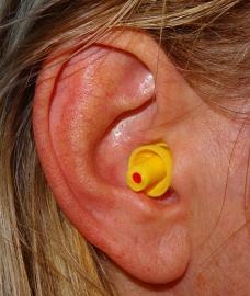 Tappi per le orecchie Musica (giallo).