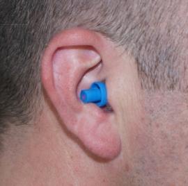 Industrial proteccion para los oidos (Azul).