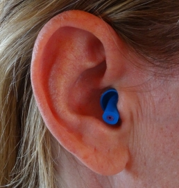 Høreværn - ørepropper Motorcykel (blå)