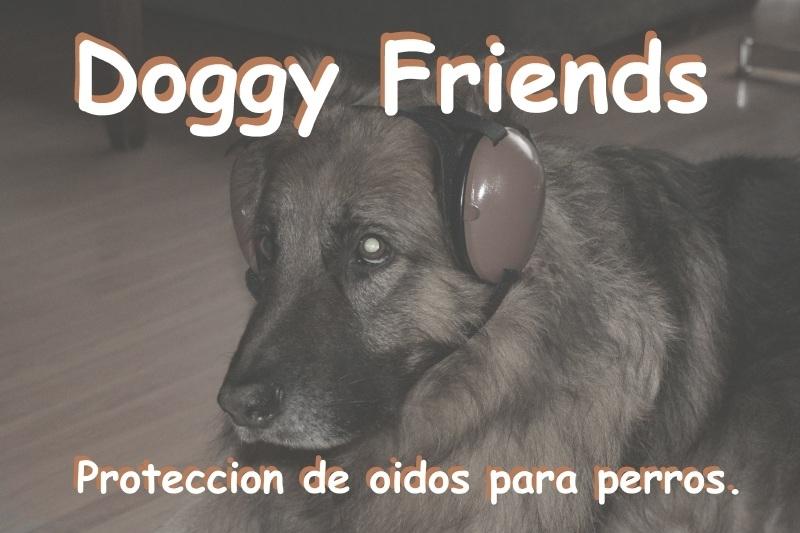 Proteccion de oidos para perros.