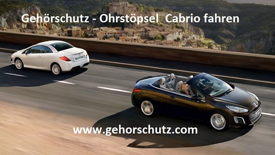 Gehörschutz-Cabrio-Ohrstöpsel-fahren