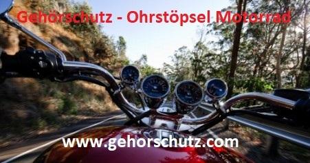 Ohrstöpsel-Gehörschutz-Motorrad