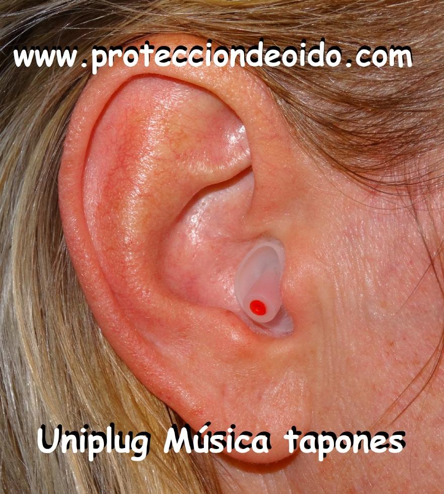 proteccion de oido Música tapones