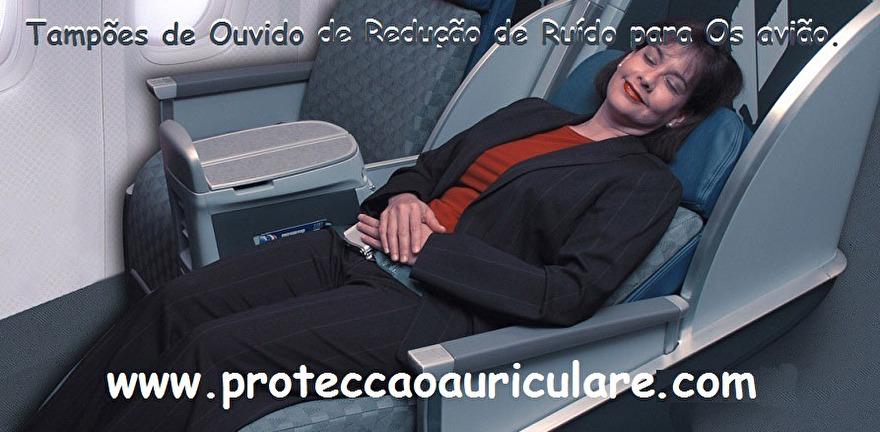 Tampão-protetor-auricular-avião