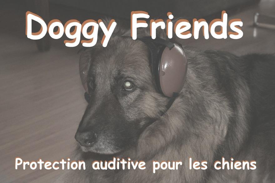 Protection auditive pour les chiens